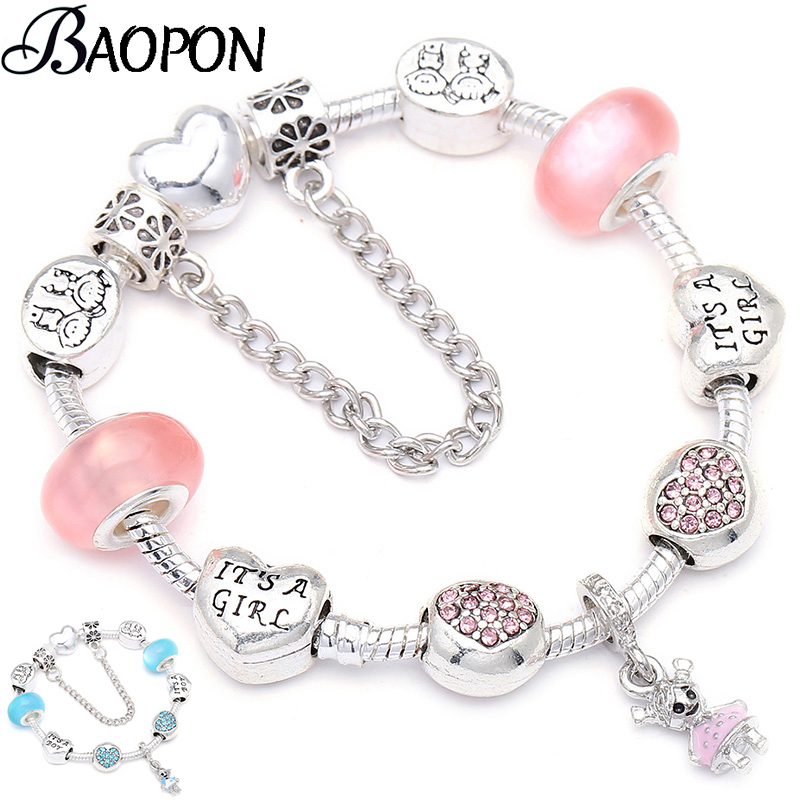 Beads Spinner 3 Colors Copper Cylinder Beads Fit Pandora Snake Chain Charm Bracelet For Women Bangles