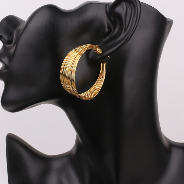 Gold Plated Jewelry Set for High-Class Ladies