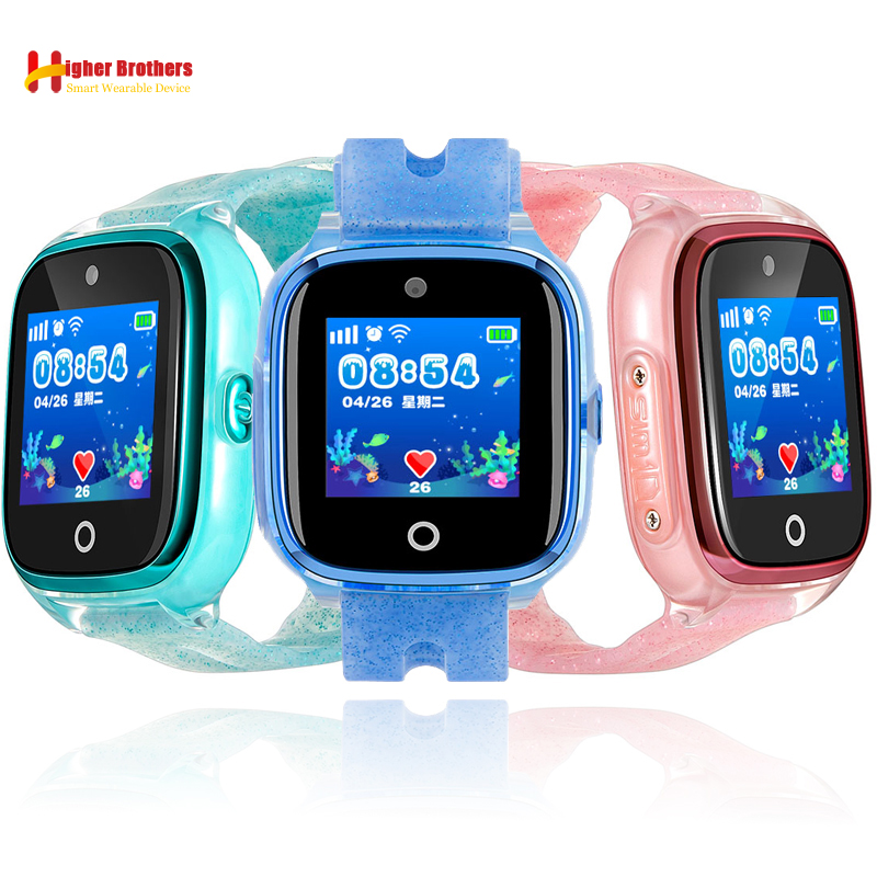 IP67 Waterproof Smart GPS WIFI Tracker Locator Kids Baby SOS Call Remote Monitor Camera Anti-lost Smartwatch Watch Wristwatch russian language smart watch kids wristwatch gps locator tracker anti lost smartwatch baby children watch with camera clock f1