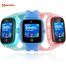 цена на IP67 Waterproof Smart GPS WIFI Tracker Locator Kids Baby SOS Call Remote Monitor Camera Anti-lost Smartwatch Watch Wristwatch