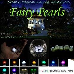 1200 stks * Drijvende Fairy parels LED licht voor bruiloft centerpieces home party decoratie multicolor LED bal lamp voor vaas