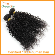 2PCS Indian Kinky Curly Hair Extensions Indian Curly Hair Weave 7A 8″-30″ Virgin Curly Hair Weft Cheveux Tissage AJ231