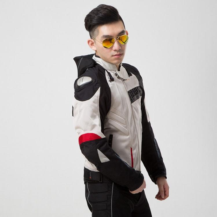 JK015 veste titane maille été moto vêtements résistance aux chutes vêtements