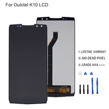 цены на Original For OUKITEL K10 LCD Display+Touch Screen Digitizer For OUKITEL K10 Display Screen LCD Assembly Phone Parts Free Tools  в интернет-магазинах