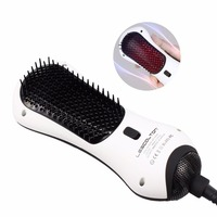 RUCHA Mini One Step Hair Dryer Hair Dryer Brush Infrared Hair Dryer Hot Air Paddle Brush Hair Blower Comb Styling Tools