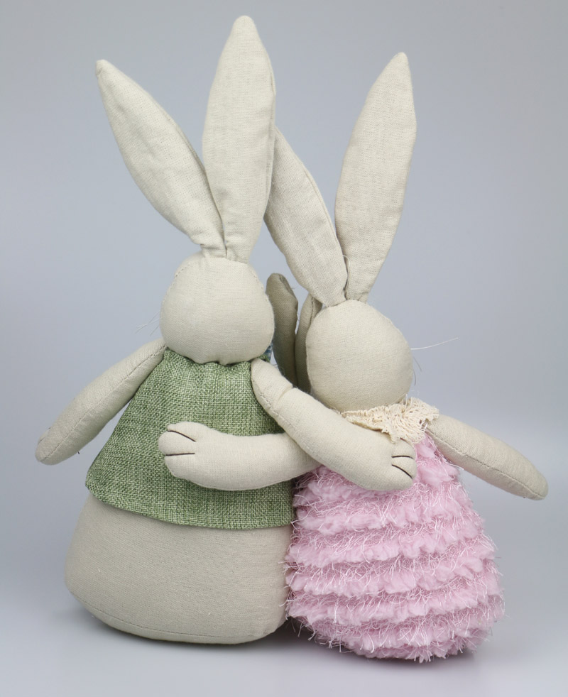A family of rabbit baby cute plush doll rabbit doll easter gift a family of rabbit baby cute plush doll rabbit doll easter gift childrens gift soft bunny plush doll cute toy animal plush in movies tv from toys negle Image collections