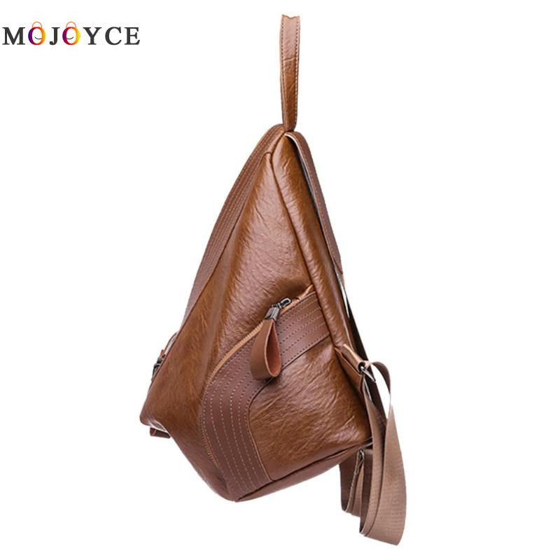 Chic Creative Zipper Open Design Women Backpack Girls Small Size Casual Soft Pu Leather Backpack Female Mochila Feminina #3