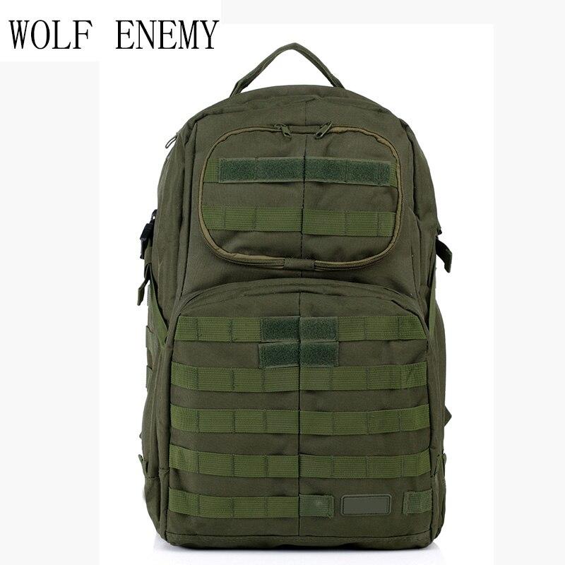 Offre spéciale hommes en plein air Style militaire Camo Camping sac patrouille 3 jours tactique Molle Camel Pack assaut Camoflaage sac à dos - 2