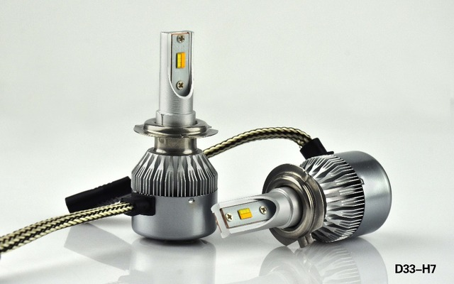Led H7 Lampen : Super helle dual farbe h led lampe watt play w lm auto