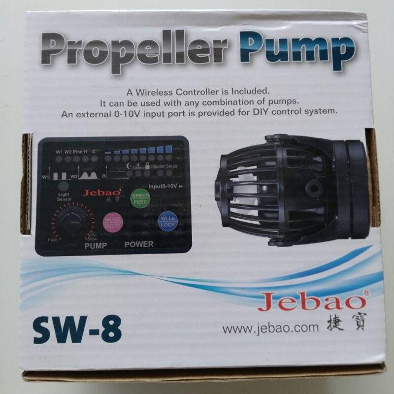 Jebao/jecod sw-2/4/8/15 pompe à hélice eco wave maker pour nano aquarium marin mini récif réservoir