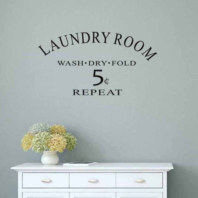 Laundry Room Vinyl Custom Laundry Room Vinyl Wall Sticker Laundry Signs Toilet Decals Design Inspiration