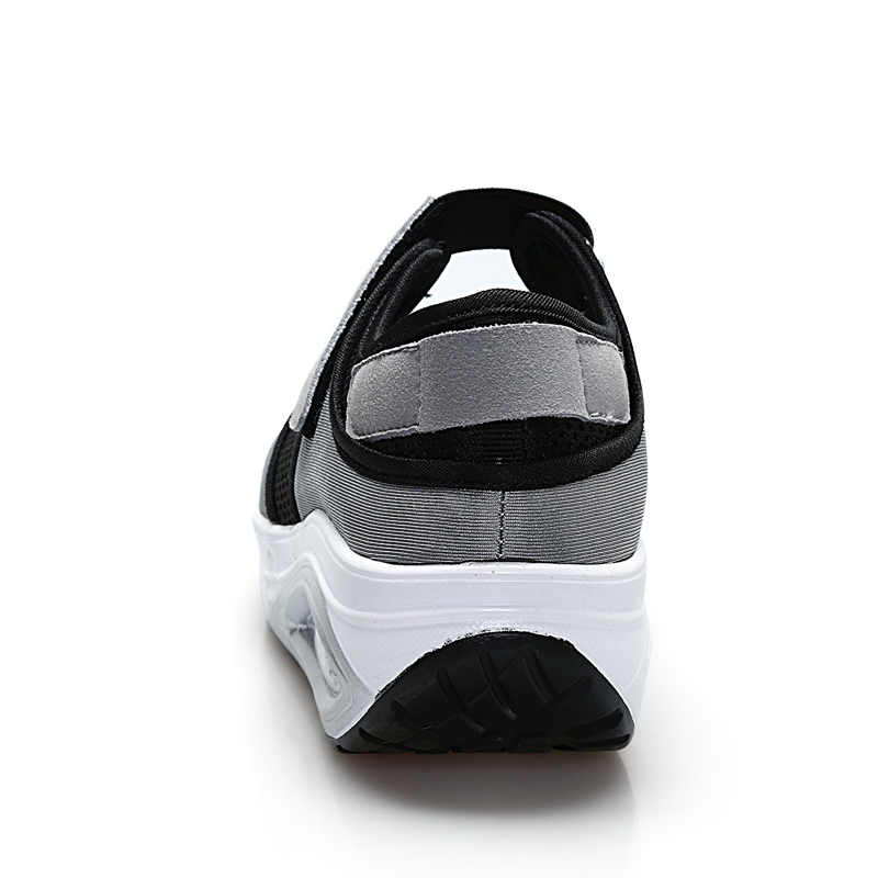 Profonde Tissu Boucle Noir Appartements forme Femelle Patchwork Plate Chaussures gris Crochet De Femmes Plat Femme Et Maille Casual Nouvelles Eofk Peu w8H6T4x