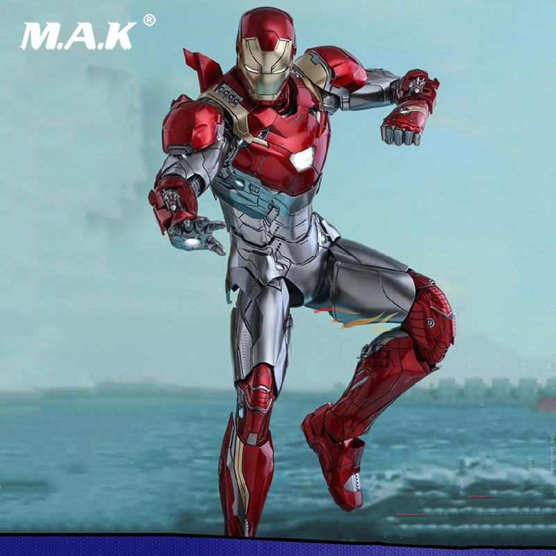 1/6 Scale Iron Man  Figure Spider-Man Homecoming Movie  Alloy Diecast  Robert Downey Action Figure for Collections 1 6th scale figure accessory iron man headsculpt tony stark head shape for 12 action figure doll not included body and clothes