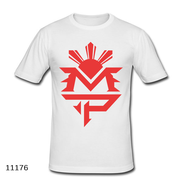 Manny Pacquiao MVP T Shirt 100% Cotton Short Sleeve MMA T-shirt Fight Floyd Mayweather Fashion Tshirt