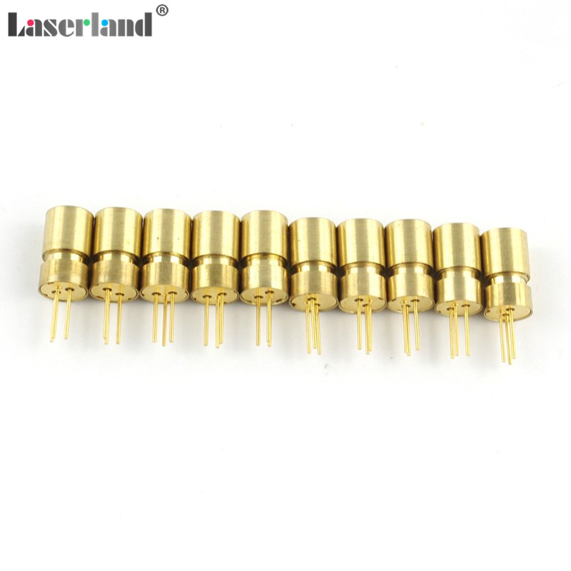10pcs Mini Focusable 6*10mm 650nm/660nm 5mW Dot Red Laser Diode Module No Driver