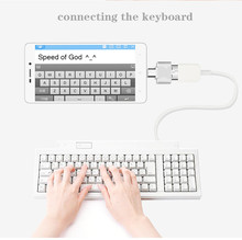 Mini Micro USB to USB OTG Cable Adapter Converter