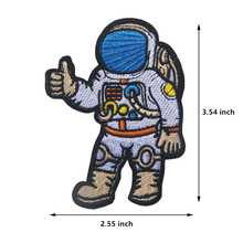 1pcs Space Flight Apollo Discovery Astronauts Embroidered Cloth Armband Patches Badge Accessories DIY Fabric Garment
