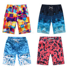 New Arrival Men Beach Shorts Casual Outwear Shorts Quick Dry Mens Printing Board Shorts Casual Shorts(China)