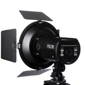 Image 4 - Yongnuo YN216 5500K/3200 5500K Bi color LED Video Fill Light Lighting with 4 Color Filters YN 216 for DV DSLR Camera Canon Nikon