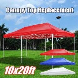 3x6m большой размер замена Оксфорд брезент водонепроницаемый садовый тент солнцезащитный тент беседка навес открытый шатер рынок тент анти ...