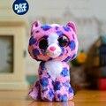 6 ''ty шапочка боос плюшевые leopard cat плюшевые котенок кукла кошки плюшевые игрушки мягкие игрушки