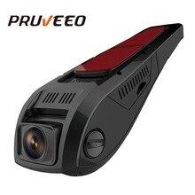 Pruveeo F5 FHD 1080 P Dash Cam Discreto Disegno del Precipitare Della Macchina Fotografica per Le Automobili 170 Wide Angle