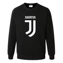 2017 Man Juventus print Sportswear Hoodies male Hip Hop Fleece Long Sleeve Hoodie Slim Fit Sweatshirt Hoodies for men Streetwear