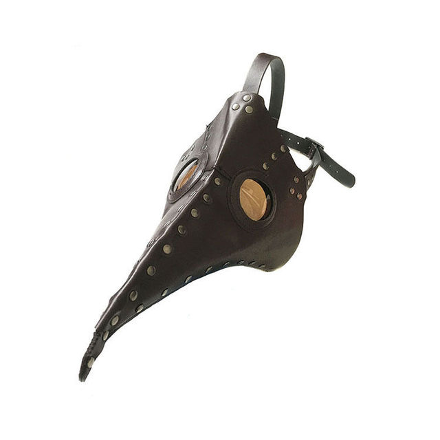 Reenactment Plague Doctor Steampunk Bird Leather Mask Exclusive Gothic Cosplay Gifts Punk Xmas