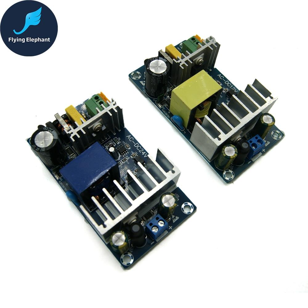 AC85-265V To DC24V DC12V Switching Power Supply Board AC-DC Power Module 24V 4-6A 6-8A 100W 1pc 100w switching power supply module ac 85 265v 50 60hz to dc12v 8a board