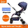 Bell baby stroller two-way ultra-light portable folding umbrella car summer baby car