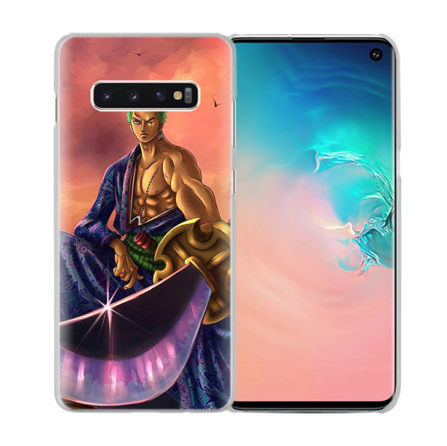 One Piece zoro Luffy Cover Cases for Samsung Galaxy Models