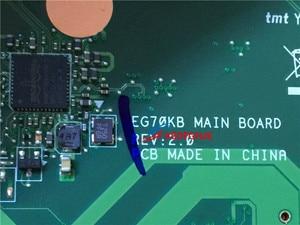Image 2 - Оригинальный NB. C2D11.003 NBC2D11003 материнская плата для ноутбука для шлюза Ne72206u NBC2D11003 EG70KB тест основной платы ОК