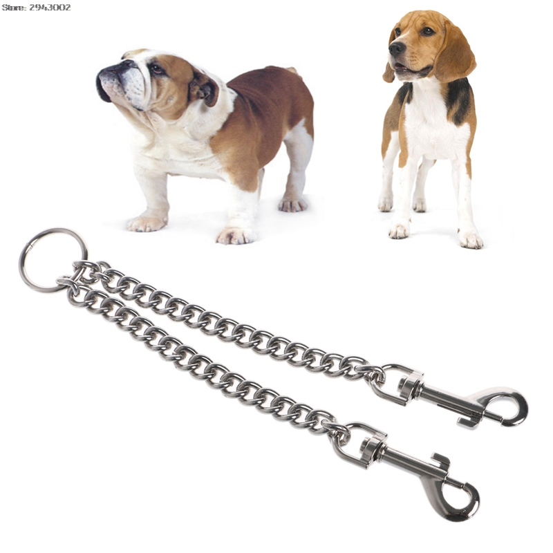 Stainless Solid Snake Chain Traning Dog Pet Collars Leash Lead