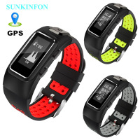 DB15 GPS Motion Track Record Smart Wristband Sports Band Dynamic Heart Rate Pedometer Bracelet For Samsung