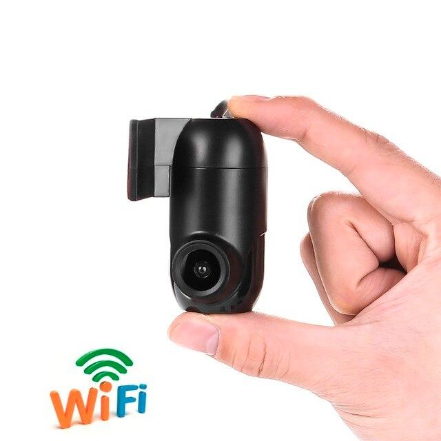 V43 V44 APP Controle Wi fi Câmera Do Carro DVR 165 Graus Lente Cam Traço  Gravador de Condução DVRs Camcorder 12MP