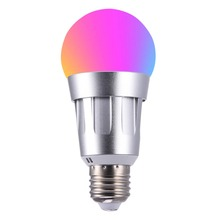 New Magic Smart WiFi Bulb Light E27 RGBW LED Home Lighting Lamp Color Change Work With Alexa Google