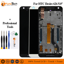 For HTC Desire 626 D626 Touch Screen Digitizer Full Assembly Replacement best new high quality lcd display touch screen digitizer assembly replacement for htc desire 626 626g 628