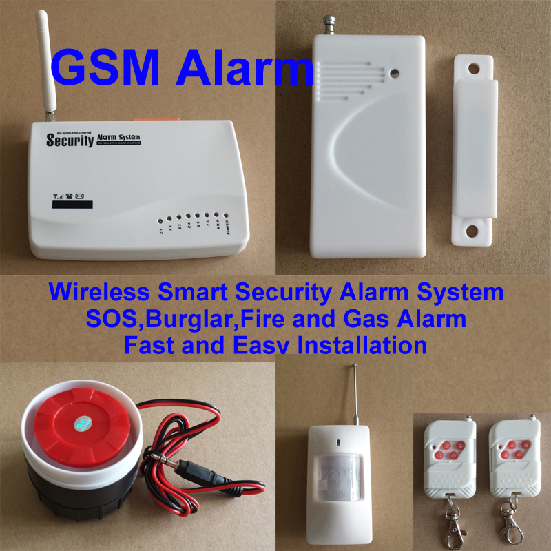 Buy gsm home security wireless smart for Smart home alarm system