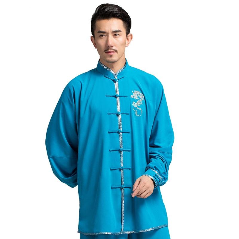 2017 Chinese Traditional Dress Martial Art Sets Taichi Clothes Kungfu Clothing Wushu Costume Taiji Uniform Women Men