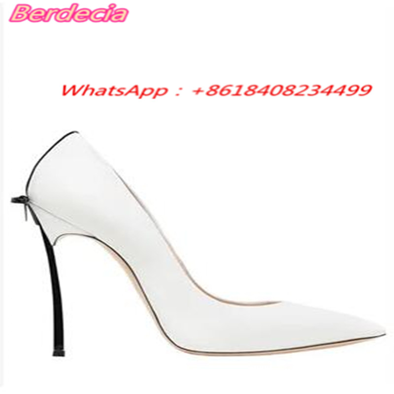 ФОТО Thin High Heels Women Pumps 0ffice Lady Sexy Pointed Toe Sandals White Spring Autumn Fashion Party Wedding Shoes for Women