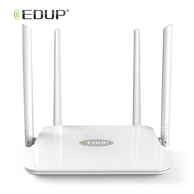 EDUP High Power Dual Band Wireless Wifi Router AC 1200Mps Long Distance Wi-fi Router 2.4G/5GHz English Version Support WISP