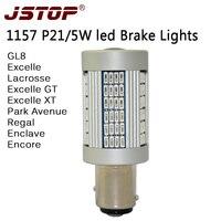 JSTOP GT XT GL8 doprowadziły światła Hamowania BAY15d P21/5 W canbus 1157 wysokiej Światła/ciemny 12-24VAC Nie błąd led red Hamulca światła żarówki samochodowe lampy