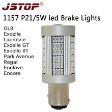 JSTOP GT XT GL8 led Brake lights BAY15d P21 5W canbus 1157 high Light dark light
