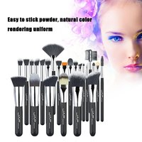 JAF Brand Professional 24pcs Makeup Brushes Set Kit Lip Foundation Blusher Eye Shadow Eyelashes Concealer Brush