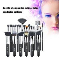 JAF Brand Professional 24pcs Makeup Brushes Set Kit Lip Foundation Blusher Eye Shadow Eyelashes Concealer Brush