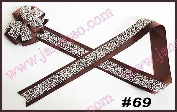 Новые 90 шт смешанных цветов 36 ''модные ленточки с бантиками для банты из бутика funky Луки