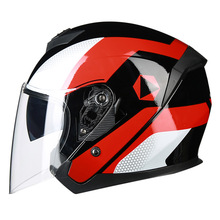 цена на Motorcycle Cycling Helmet Man Motorbike Half Face Helmet four Seasons Electric Safe Helmet for Women Men