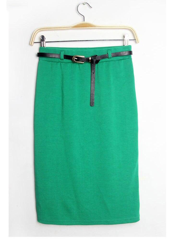 292f299ebc 2015 Summer Style Fashion Women's Skirts Ladies High Waist Midi Pencil  Shorts Skirt Slim Tube Stretch Saias Skirts 9 Color WK04-in Skirts from  Women's ...