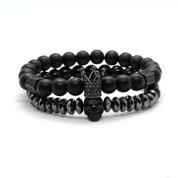 Bracelets assortis pour couple perles