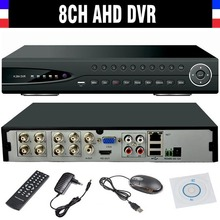 New 720P 8CH CCTV AHD DVR H.264 community 8channel Video Digital community Hybrids video Recorder for Surveillance AHD Digital camera